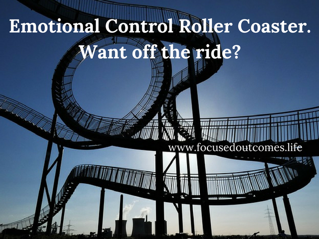 Emotional Control Roller Coaster