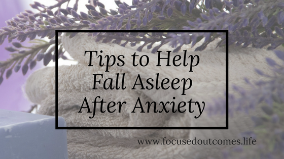 help falling asleep with anxiety